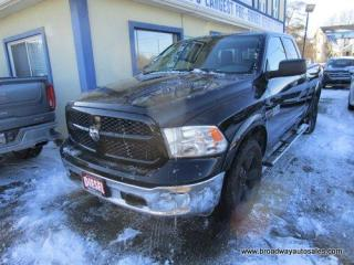 Used 2016 Dodge Ram 1500 GREAT VALUE SLT MODEL 5 PASSENGER 3.0L - ECO-DIESEL.. 4X4.. QUAD-CAB.. SHORTY.. BACK-UP CAMERA.. TRAILER BRAKE.. BLUETOOTH SYSTEM.. for sale in Bradford, ON