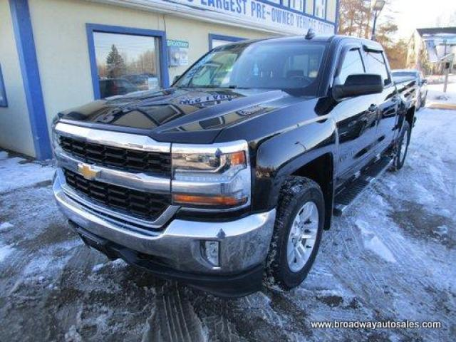 2018 Chevrolet Silverado 1500 GREAT KM'S LT EDITION 6 PASSENGER 5.3L - V8.. 4X4.. CREW-CAB.. SHORTY.. TRAILER BRAKE.. BACK-UP CAMERA.. BLUETOOTH SYSTEM.. CD/AUX/USB INPUT..