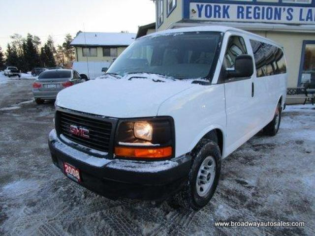 2008 GMC Savana 3/4 TON PEOPLE MOVING 12 PASSENGER 6.0L - VORTEC.. SHORTY.. SIDE BARN-DOOR ENTRANCE.. TOW SUPPORT.. REAR CLIMATE CONTROLS.. STABILITRAK SYSTEM..