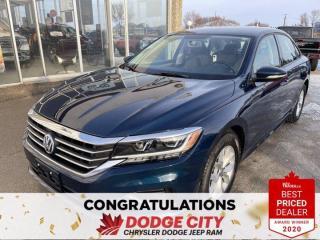 Used 2020 Volkswagen Passat COMFORTLINE for sale in Saskatoon, SK