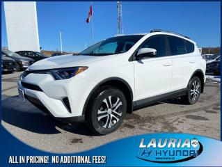 Used 2017 Toyota RAV4 LE FWD - LOW KMS for sale in Port Hope, ON