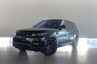 Used 2017 Land Rover Range Rover Sport V8 Supercharged for sale in Langley City, BC