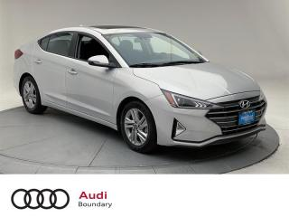 Used 2020 Hyundai Elantra Preferred IVT Sun and Safety for sale in Burnaby, BC