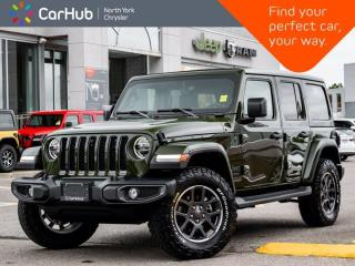 New 2021 Jeep Wrangler Unlimited Sahara 80th Anniversary Sky Roof Heated Leather for sale in Thornhill, ON