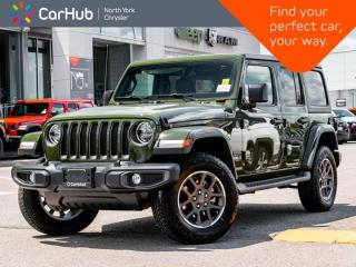 New 2021 Jeep Wrangler Sahara 80th Anniversary Unlimited 4x4 Heated Leather Seats Nav & Sound for sale in Thornhill, ON
