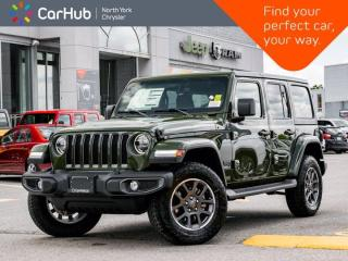 New 2021 Jeep Wrangler Sahara 80th Anniversary Unlimited 4x4 Heated Seats Safety Grp for sale in Thornhill, ON