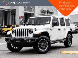 New 2021 Jeep Wrangler Sahara 80th Anniversary Unlimited 4x4 Sky Roof LED Advanced Safety for sale in Thornhill, ON