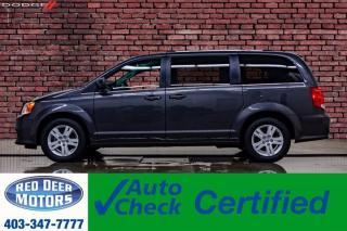 Used 2018 Dodge Grand Caravan Crew Plus Leather Nav BCam for sale in Red Deer, AB