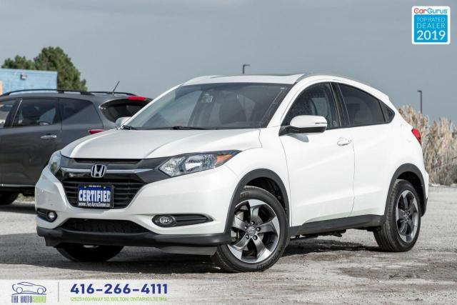 2018 Honda HR-V EX-L Navi|Leather|Back up cam|Roof|