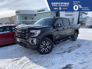 Used 2020 GMC Sierra 1500 AT4 6.2L 4x4 Crew Cab   Tech Package   Navigation for sale in Winnipeg, MB