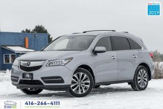 Used 2016 Acura MDX Tech package|Navi|Roof|Clean Carfax| for sale in Bolton, ON