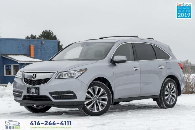 2016 Acura MDX Tech package|Navi|Roof|Clean Carfax|