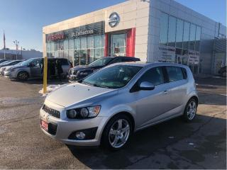 Used 2015 Chevrolet Sonic LT Auto WOW Only 36k's   Accide Free for sale in St. Catharines, ON