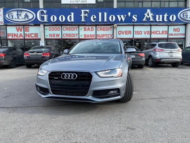 2015 Audi A4 KOMFORT PLUS 2L TURBO, QUATTRO, AWD, LEATHER SEATS