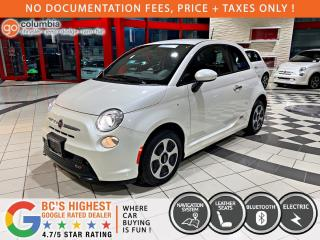 Used 2017 Fiat 500 E 500e - No Accdient / Nav / No Dealer Fees / One Owner for sale in Richmond, BC