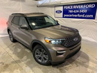New 2021 Ford Explorer XLT for sale in Peace River, AB