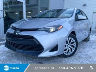 Used 2019 Toyota Corolla LE - AUTO, HEATED SEATS, BACK UP, BLUETOOTH for sale in Edmonton, AB