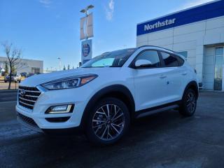New 2021 Hyundai Tucson LUXURY:BLUELINK/LEATHER/APPLE CARPLAY/SUNROOF/PROXY KEY for sale in Edmonton, AB