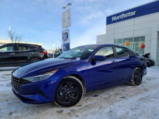 New 2021 Hyundai Elantra PREFERRED-APPLE CAR PLAY/ BACK UP CAM/ HEATED STEERING WHEEL/ BLUETOOTH for sale in Edmonton, AB
