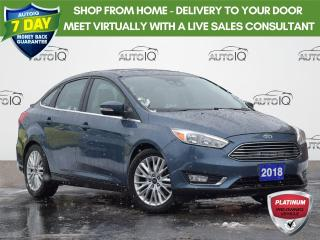 Used 2018 Ford Focus Titanium TITANIUM | 2.0 L | NAV | HEATED SEATS | REVERSE CAM | WINTER TIRES ON RIMS for sale in Waterloo, ON