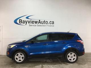 Used 2017 Ford Escape - REVERSE CAM! SYNC! PWR GROUP! + MORE! for sale in Belleville, ON