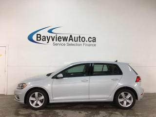 Used 2019 Volkswagen Golf 1.4 TSI Highline - AUTO! SUNROOF! HTD LEATHER! ADAPTIVE CRUISE! + MORE! for sale in Belleville, ON
