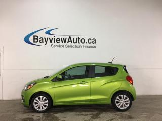 Used 2016 Chevrolet Spark 1LT Manual - 5SPD! BIG SCREEN! ALLOYS! PWR GROUP! A/C! for sale in Belleville, ON