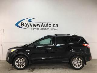 Used 2017 Ford Escape - 4WD! HTD SEATS! REVERSE CAM! BIG SYNC SCREEN! for sale in Belleville, ON