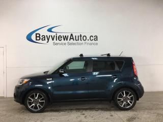 Used 2018 Kia Soul EX Tech - AUTO! PANOROOF! HTD/COOLED LTHR! NAV! ADAPTIVE CRUISE! + MUCH MORE! for sale in Belleville, ON