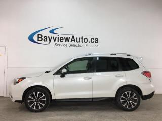 Used 2018 Subaru Forester 2.0XT Touring - TURBO! AWD! AUTO! HTD LEATHER! PANOROOF! NAV! for sale in Belleville, ON
