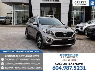 Used 2016 Kia Sorento 2.0L EX LEATHER - PWR DRIVER SEATS - HEATED SEATS for sale in North Vancouver, BC