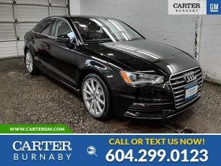 Used 2016 Audi A3 2.0T Progressiv for sale in Burnaby, BC