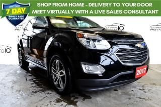 Used 2017 Chevrolet Equinox Premier V-6 AWD SUPER CLEAN for sale in Grimsby, ON