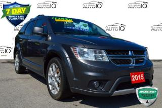 Used 2015 Dodge Journey R/T LOADED PEOPLE MOVER for sale in Grimsby, ON