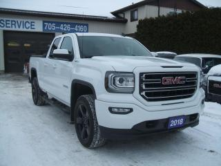 Used 2018 GMC Sierra 1500 Elevation Edition, 4x4, Double Cab, 5.3L V8 for sale in Beaverton, ON
