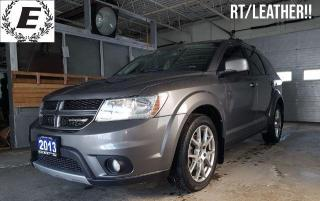 Used 2013 Dodge Journey RT/LEATHER/SUNROOF!! for sale in Barrie, ON