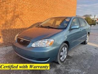 Used 2005 Toyota Corolla LE/SAFETY AND WARRANTY INCLUDED for sale in Oakville, ON