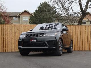 Used 2019 Land Rover Range Rover Sport AWD, Supercharged V8, Fully Loaded - HIGH SPECIFICATION! for sale in Langford, BC