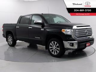 Used 2017 Toyota Tundra Limited  for sale in Winnipeg, MB