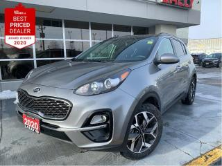 Used 2020 Kia Sportage EX #Heated seats #Bluetooth #Back-up cam for sale in Chatham, ON