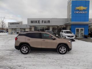 Used 2018 GMC Terrain SLE remote start, auto climate control, rear vision camera, heated front seat for sale in Smiths Falls, ON