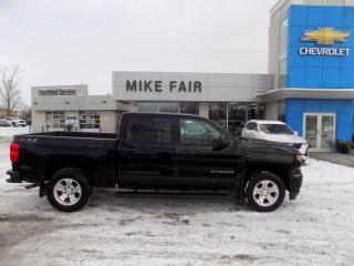 Used 2018 Chevrolet Silverado 1500 Remote keyless entry/ locking tailgate, rear bumper cornersteps, rear vision camera/park assist for sale in Smiths Falls, ON