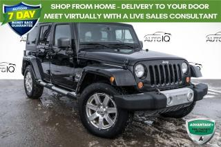 Used 2013 Jeep Wrangler Unlimited Sahara HEATED SEATS! REMOTE START! for sale in Barrie, ON