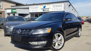 Used 2015 Volkswagen Passat Highline Navi/Backup Cam/P-Moon for sale in Etobicoke, ON