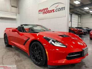Used 2018 Chevrolet Corvette Stingray Conv2LTMBRPexst HUD MEM Z51wheels&spoiler for sale in St. George, ON