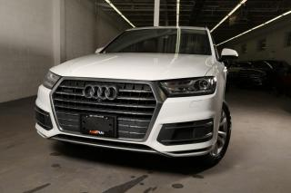 Used 2018 Audi Q7 3.0T Progressiv Brown Interior One Owner Clean Crafax Navi Sunroof Leather 7 passenger for sale in North York, ON