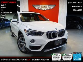 Used 2017 BMW X1 CARFAX CLEAN | HUD | NAVI | PANO | CERTIFIED | FINANCE | 9055478778 for sale in Oakville, ON