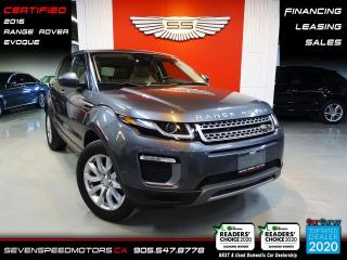 Used 2016 Land Rover Evoque NAVI | PANO | CERTIFIED |  | FINANCE | 9055478778 for sale in Oakville, ON