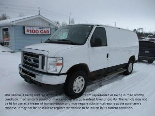 Used 2013 Ford Econoline Cargo Van Commercial for sale in North Bay, ON