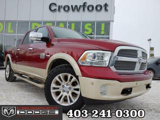 Used 2014 RAM 1500 LARAMIE LONGHORN CREWCAB 4X4 for sale in Calgary, AB